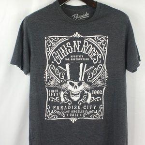 Guns N' Roses | Dark Grey Band Tee size Large